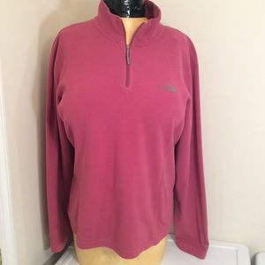 The Northface  Pullover Shirt  XL Pink (1-30)#5
